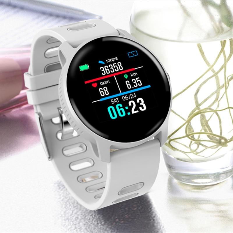 Image 3 - Смарт часы S08 для занятий спортом на открытом воздухе, фитнес трекер с несколькими видами спорта, пульсометр, IP68 Водонепроницаемые мужские Смарт часыСмарт-часы    АлиЭкспресс