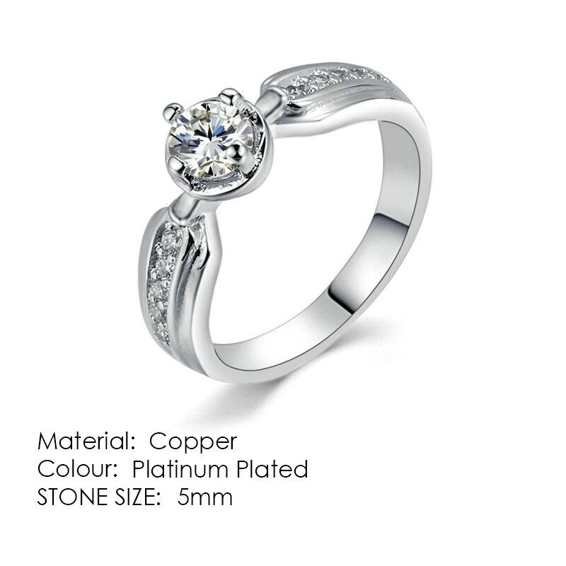 ZHOUYANG кольцо для женщин, простой стиль, кубический цирконий, свадебное кольцо, светильник, золотой цвет, модное ювелирное изделие KBR103 - Цвет основного камня: R512