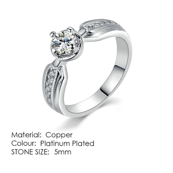 ZHOUYANG Ring For Women Simple Style Cubic Zirconia Wedding Ring Light Gold Color Fashion Jewelry KBR103 17