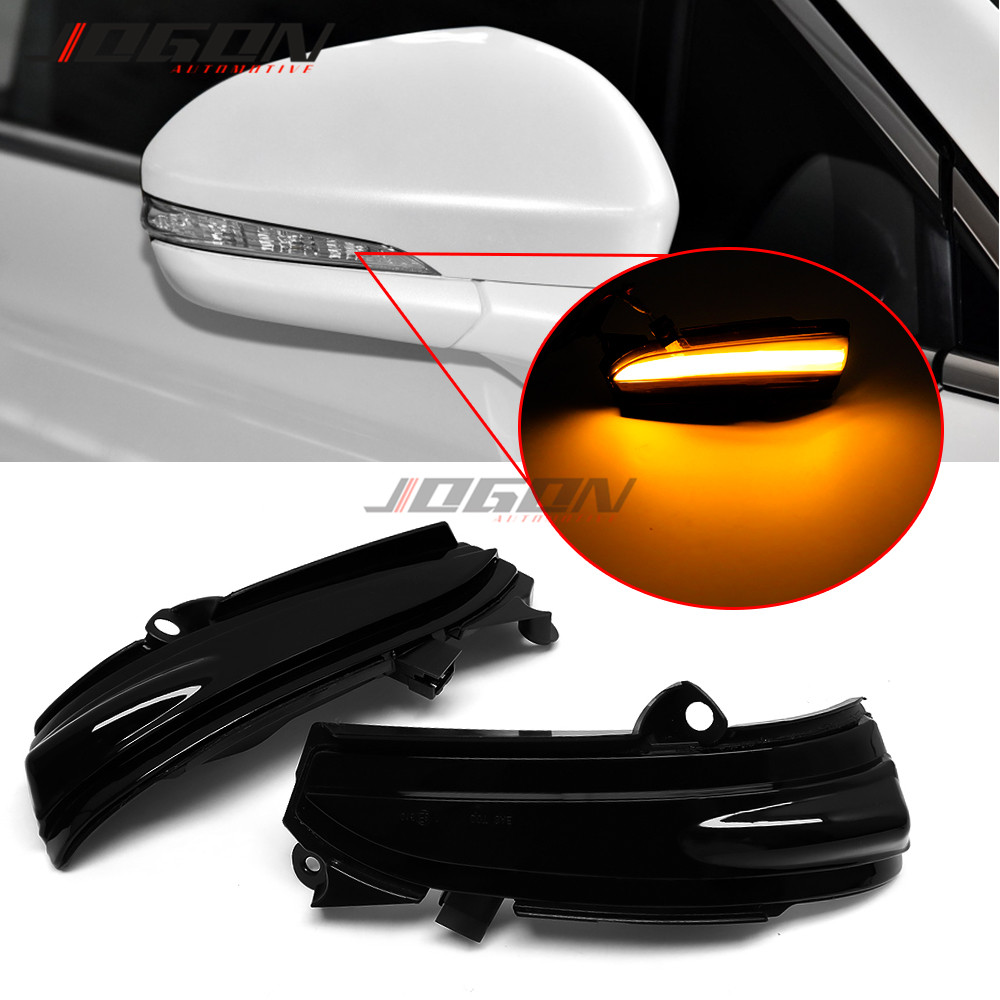 LED Dynamic Turn Signal Side Mirror Blinker Indicator Sequential Light For Ford Fusion Mondeo 2013 2014 2015 2016 2017 2018 4th.