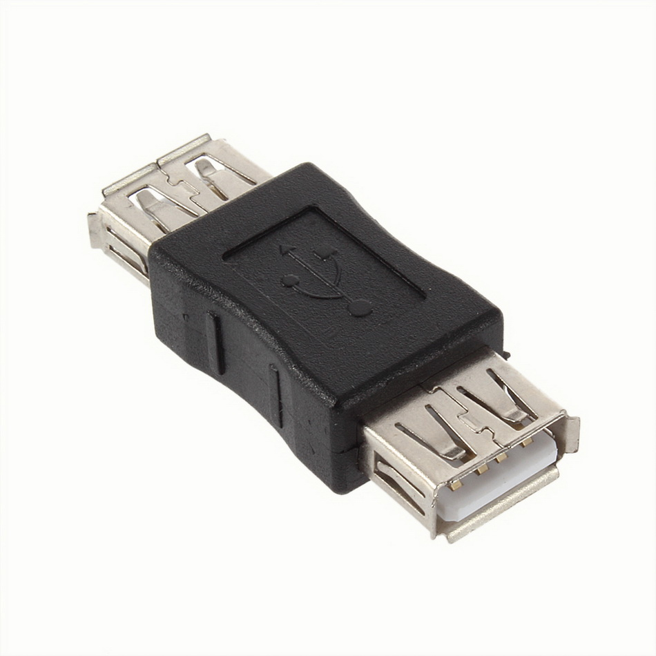 New USB 2.0 Type A Female To A Female Coupler Adapter Connector F/F Converter Wholesale