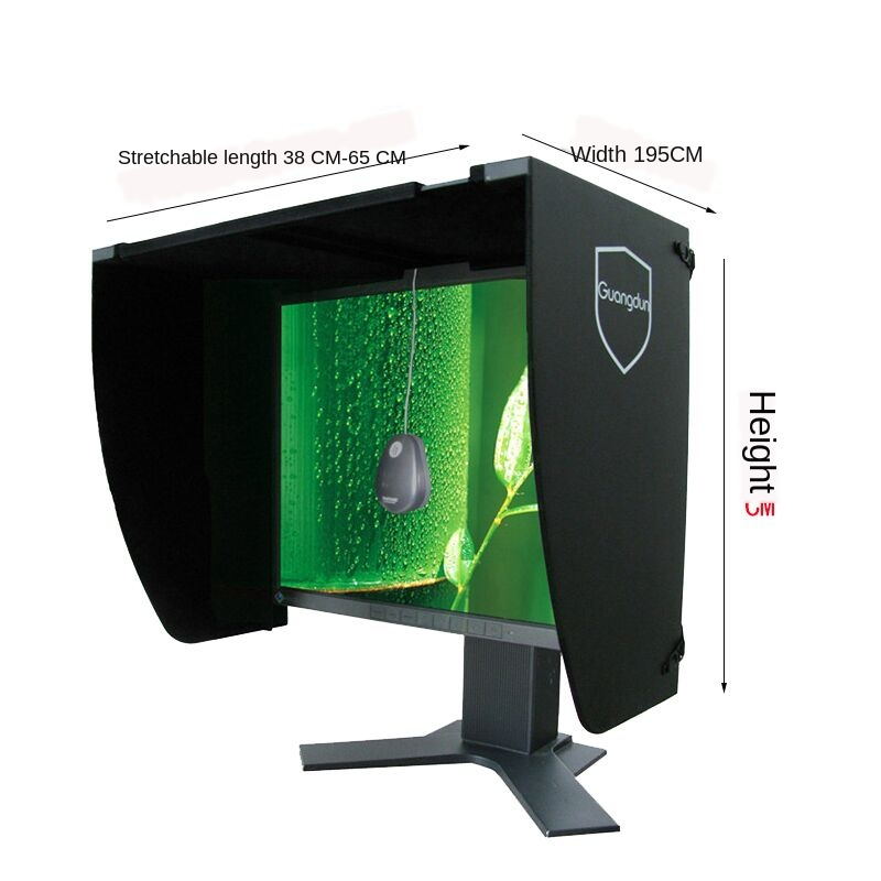 Desktop Computer Screen Display Shade Printing Repair Design Width 41-66cm Sunshade