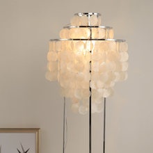 Nordic Bedroom shell floor lamp warm and Romantic decorative sofa light luxury