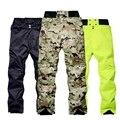 Мужские штаны для сноуборда, водонепроницаемые ветрозащитные камуфляжные уличные штаны для снега, мужские зимние теплые лыжные брюки с выс...