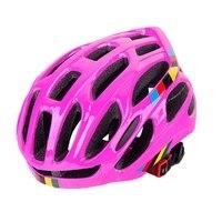 Cycling Helmet Superlight Road Bike Bicycle Helmet Breathable Mtb Mountain Cycling Helmets Pink