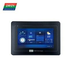 Dwin 7 polegada tft tela, 1024*600 hmi display industrial, módulo de exibição lcd uart dmt10600t070_a5wtc