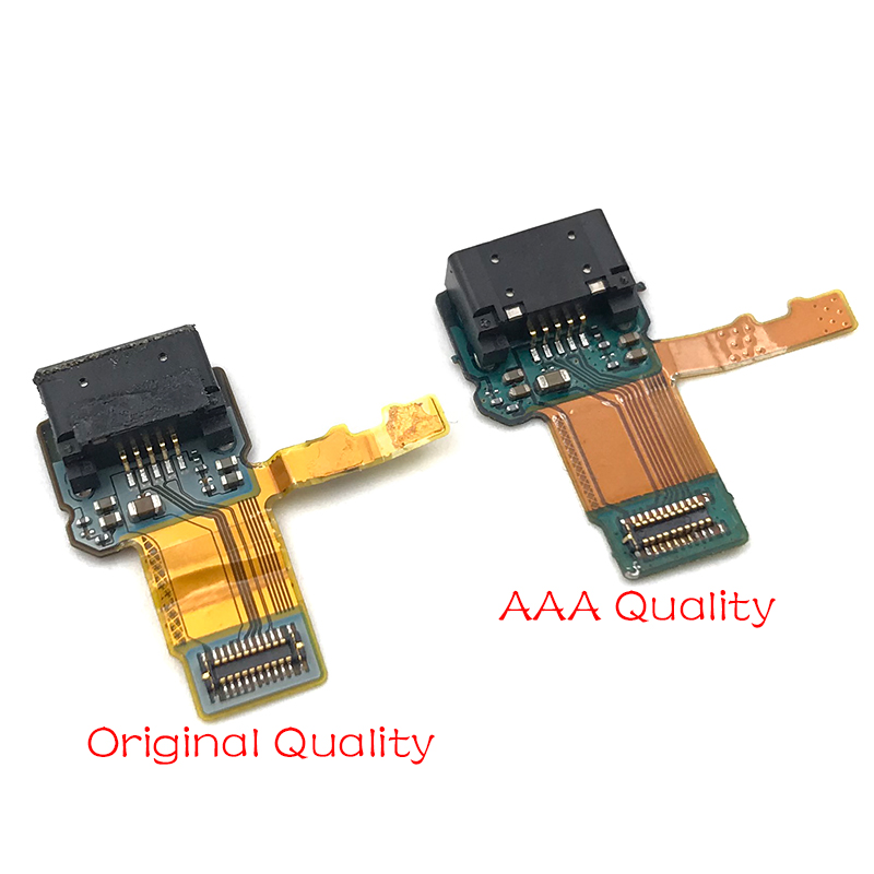 New For Sony Xperia X F5121 Micro USB Charging Charger Port Dock Connector Flex Cable Replacement Spare Parts