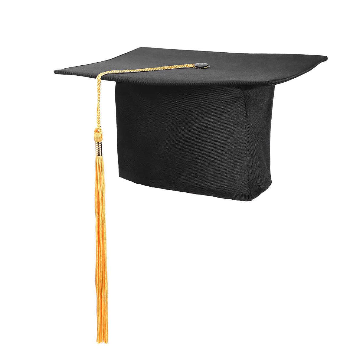 1PC Graduation Party Tassels หมวก Mortarboard University มี Master Doctor Academic หมวก