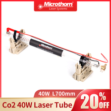 Co2 Laser Tube 40W 700*50mm for Co2 Laser Engraving/Cutting Machines