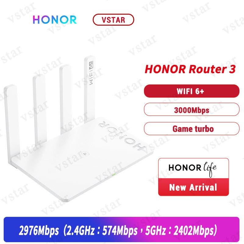 Оригинальный маршрутизатор Honor Router 3 WiFi 6 + 3000 Мбит/с, беспроводной маршрутизатор Honor WiFi 3 маршрутизатор