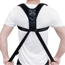 Men Women Adjustable Posture Corrector Back Support Strap Br