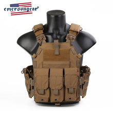 Emersongear Blauw Label 094K Tactische Vest Quick Release Plate Carrier Molle Body Armor Swat Harnas Airsoft Militaire Gear(China)