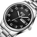 Herren Uhr Luxus Voller Stahl Uhren Mode Quarz Armbanduhr Wasserdicht Datum Männlich Uhr Relogio Masculino Uhren Para Hombre