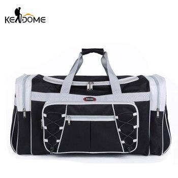 Водонепроницаемый нейлон Чемодан Сумки для зала на открытом воздухе сумка Большой Путешествия ТАС для Для женщин мужские дорожные сумки сп...