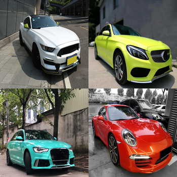 SUNICE vinyl wrap car film exterior wrapping folie motorcycle auto stickers voiture glossy cars covering films decal accessories image