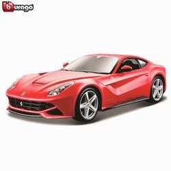 Bburago 1:24 Ferrari F12 коллекция производитель Авторизованная литая модель машины образец прикладного искусства украшения коллекция игрушка