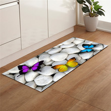 Beach Stone Shell Print Kitchen Mat Non Slip Area Rug Modern Living Room Balcony Bathroom Nordic Carpet Doormat Hallway Bath Mat