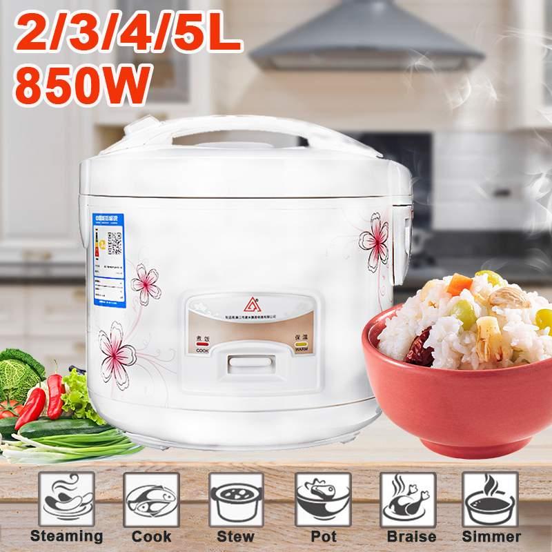 Cuiseur à riz électrique à la maison 2/3/4/5L alliage fonte chauffage autocuiseur soupe gâteau Maker multicuiseur appareils de cuisine