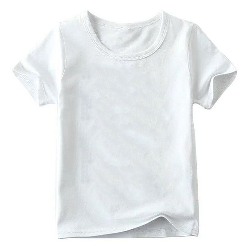 Children Cute Flower Cat Face Funny T shirt Summer Baby Boys/Girls Cartoon Tops Short Sleeve T-shirt Kids Clothes 7