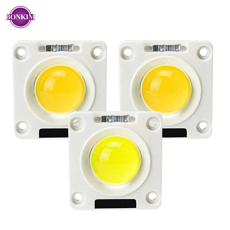 Anti-Surge LED COB Chip AC220V 50W 30W 20W Fixer Piring Keramik Silikon Lampu Manik-manik untuk DIY Lampu Sorot Lampu Outdoor