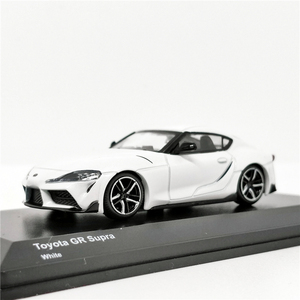 Image 3 - Kyosho 1:64 Toyota GR Supra Red/White/Yellow Diecast Model Car