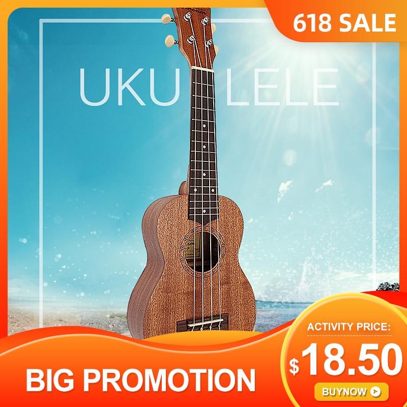 """Zebra 21 """"дюймов 12 лад Sapele Ukulele Concert Uke Rosewood ручка для ГРИФА гитара Мини гитарра музыкальный инструмент для начинающих"""