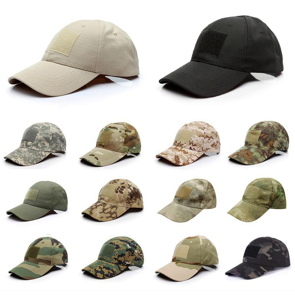 Outdoor Camouflage Cap Simple Tactical Military Army Camouflage Hunting Cap