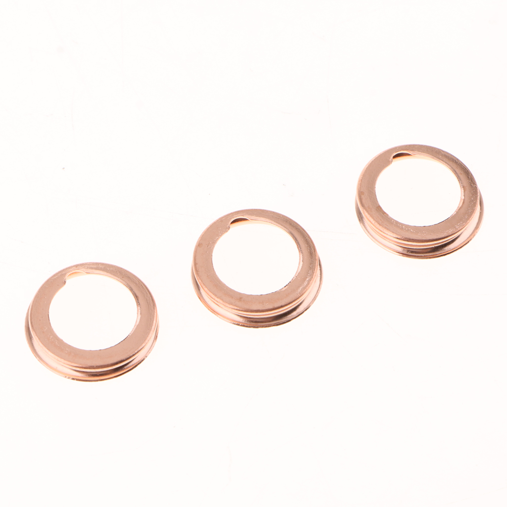 50Pcs M12 Metal Oil Drain Plug Crush Washers Gaskets For NISSAN 1026JA00A|Oil Pans| |  - title=