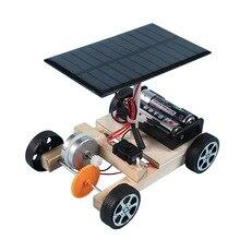 Toy Robot-Kit-Set Solar-Powered Car-Toys Science-Experiment Energy Educational Mini DIY