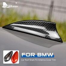 الكربون الألياف القرش زعنفة هوائي غطاء ل BMW F20 F21 F45 F46 F31 F34 G31 G32 F48 F39 G01 G02 F15 F85 G05 F16 F86 G07 اكسسوارات