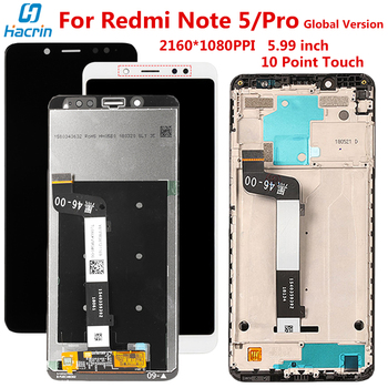 Display For Xiaomi Redmi Note 5 Pro Global LCD Display 10 Touch Screen Teste Assembly For Redmi Note 5 Snapdragon 636 LCD Screen