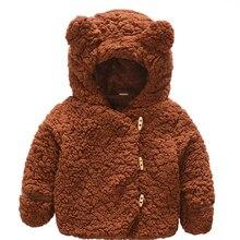 Jacket Baby-Girl Coats Outerwear Newborn Kids Winter Autumn for Wool Warm Infant 1-2-3-Years