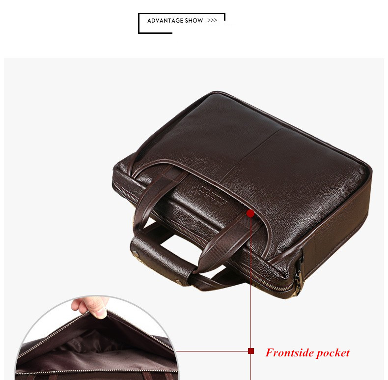 Hf5abe075fb2f48fd8dde511bf96f7c6bJ 2019 New Fashion cowhide male commercial briefcase /Real Leather vintage men's messenger bag/casual Natural Cowskin Business bag
