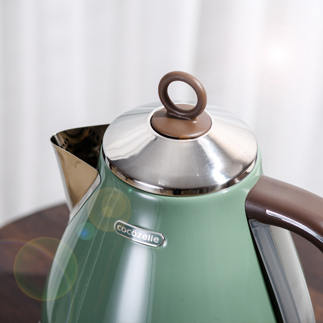 Vintage Electric Kettle 304 Stainless Steel Automatic Power off Household  kitchen appliances electric teapot 2