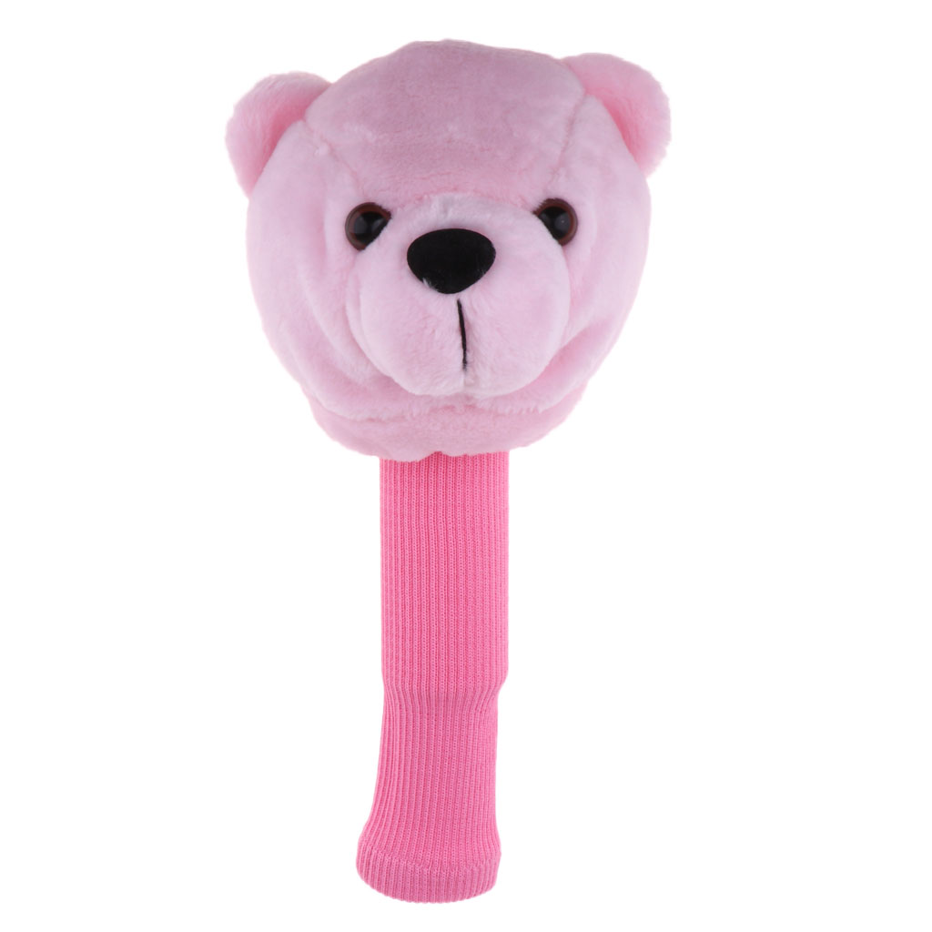 Bear Golf Sports Club Covers Head Cover For 460cc/No.1 Driver Wood Headcovers -FULL PROTECTION