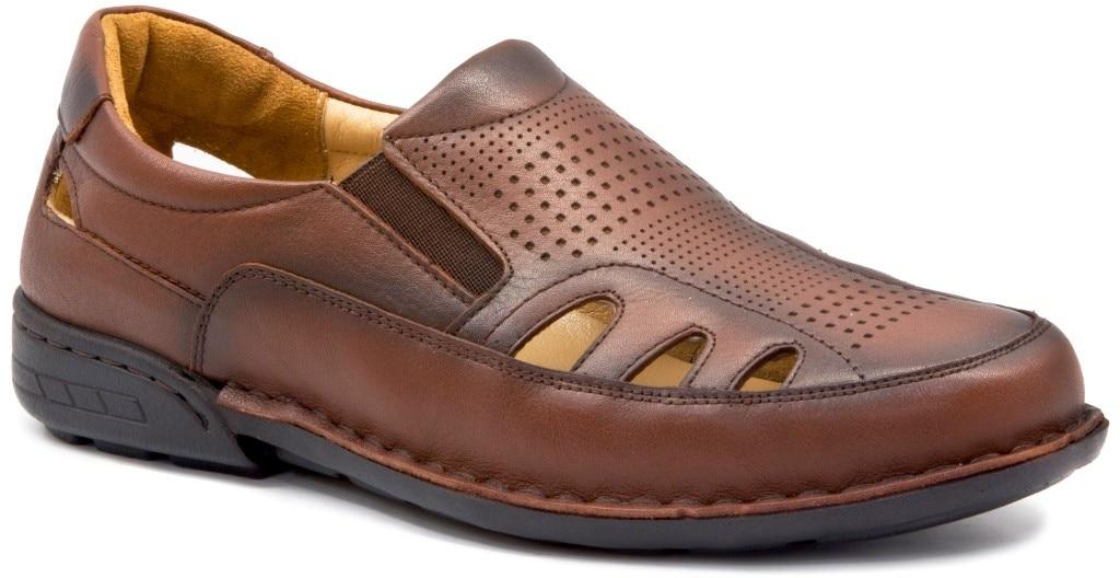 Gedikpaşalı YGM 9Y 118 TAN Men Shoes Slippers-Sandals