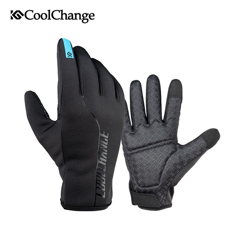 Spakct Bike Cycling Men/'s Winter Warm Gloves Full Finger Gloves-Motor Black