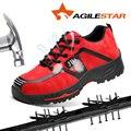 Arbeit Stiefel Männer Bau Im Freien Stahl Schuhe Männer Atmungsaktive Anti-piercing Hohe Qualität Männer Sicherheit Schuhe Große Größe 35 -48