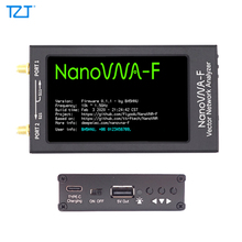 "TZT 50KHz 1.5GHz HF VHF UHF VNA ناقلات شبكة NanoVNA محلل عدة مع 4.3 ""شاشة الكريستال السائل المعادن حالة NanoVNA F/H1/H4"