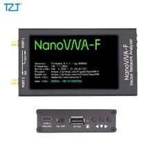 """TZT 50KHz 1.5GHz HF VHF UHF VNA וקטור NanoVNA רשת Analyzer ערכת עם 4.3 """"תצוגת LCD מתכת מקרה NanoVNA F/H1/H4"""