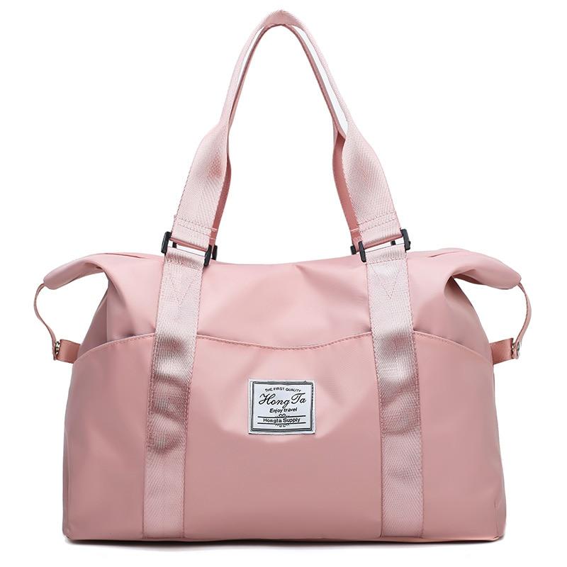 NoEnName 1PC Solid Retro Handbag Shoulder Bags Waterproof Oxford Cloth Tote Purse Hobo Bag Outdoor Travel Bags
