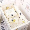 7 шт./компл.  Комплект постельного белья для малышей  комплект для детской кроватки  бамперы для кроватки  дышащие хлопковые бамперы для кров...