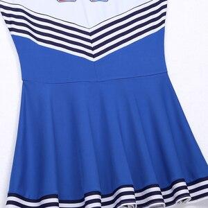 Image 5 - Женское платье без рукавов, плиссированное короткое платье с круглым вырезом, для костюмированной вечеринки