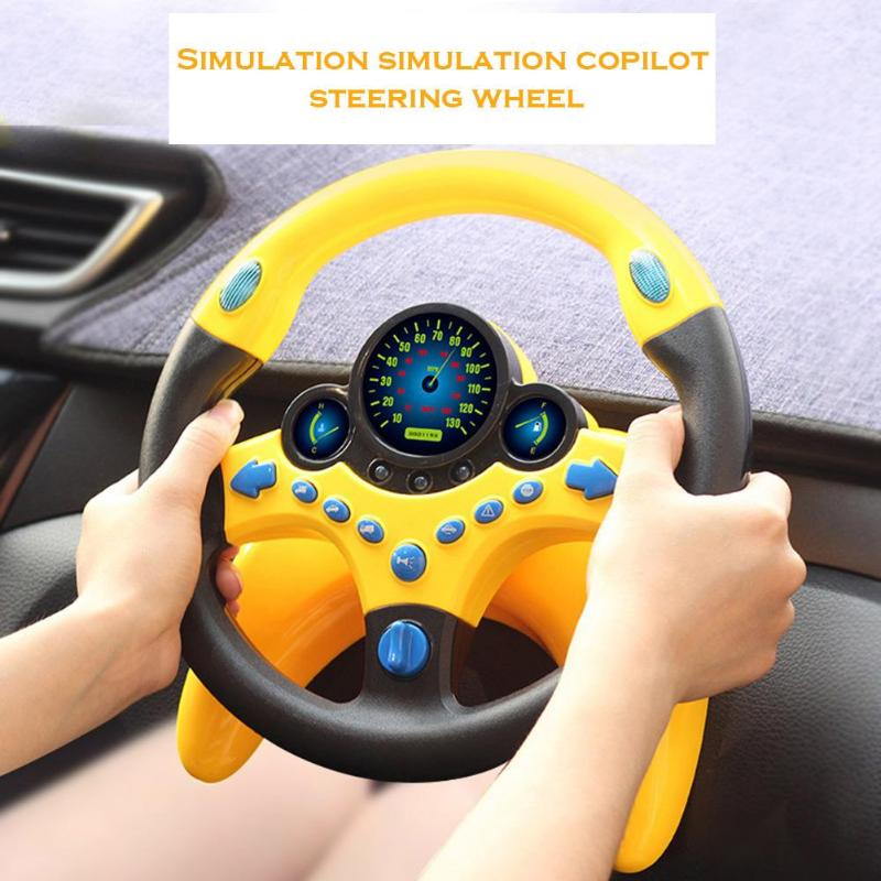 Steering Wheel Baby Musical Developing Educational Toys New And High Quality Fashionable Atmosphere For Children Birthday