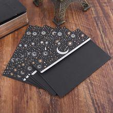 6pcs/pack Starry Sky Writing Letter Envelope Romantic Creative Small Fresh Japanese Style Letter Bag M17F