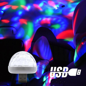 2019 NEW Multi Color USB LED Car Interior Lighting Kit Atmosphere Light Neon Colorful Lamps Interesting Portable Accessories 1PC