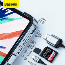 Baseus USB C HUB Type C to USB 3.0 HDMI USB HUB for iPad Pro Type C HUB for MacBook Pro Multi 6 Ports Adapter HUB Dock Station цена и фото