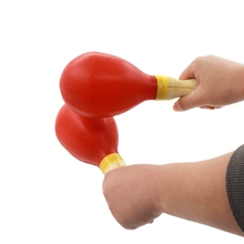 Sand Hammer 1 Pair Children Creative Orff Instruments Plastic Students Beginners Rhythm Control Accompaniment Performance Toys