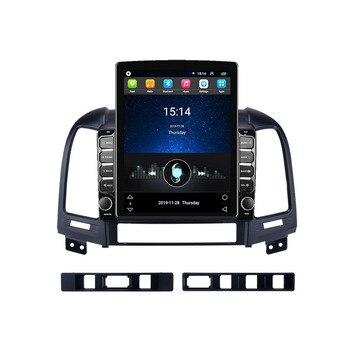 """Vertical 9,7 """"Android 8,1 2 din auto Radio Multimedia reproductor de Video Wifi navegación GPS para Hyundai Santa Fe 2 2006-2012 autoradio"""
