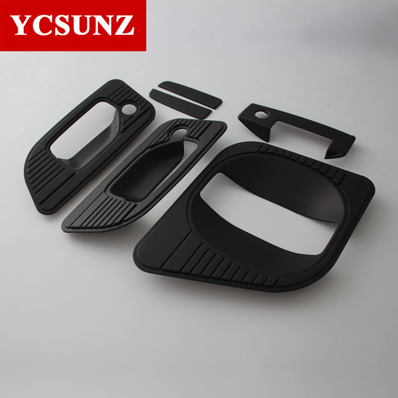 ABS Door Handle Cover Accessories For Nissan Urvan Caravan <font><b>NV350</b></font> E26 2016 2017 2018 Car Styling Plate Parts image